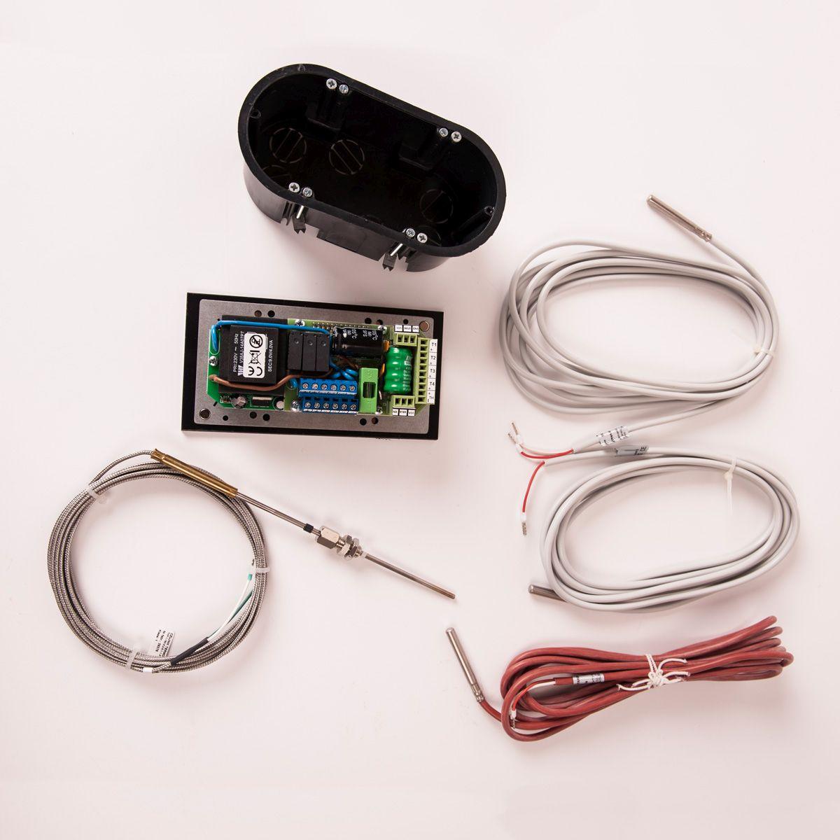 Automatická regulace hoření RT-08GX, 120mm, teplovodní se senzorem spalin