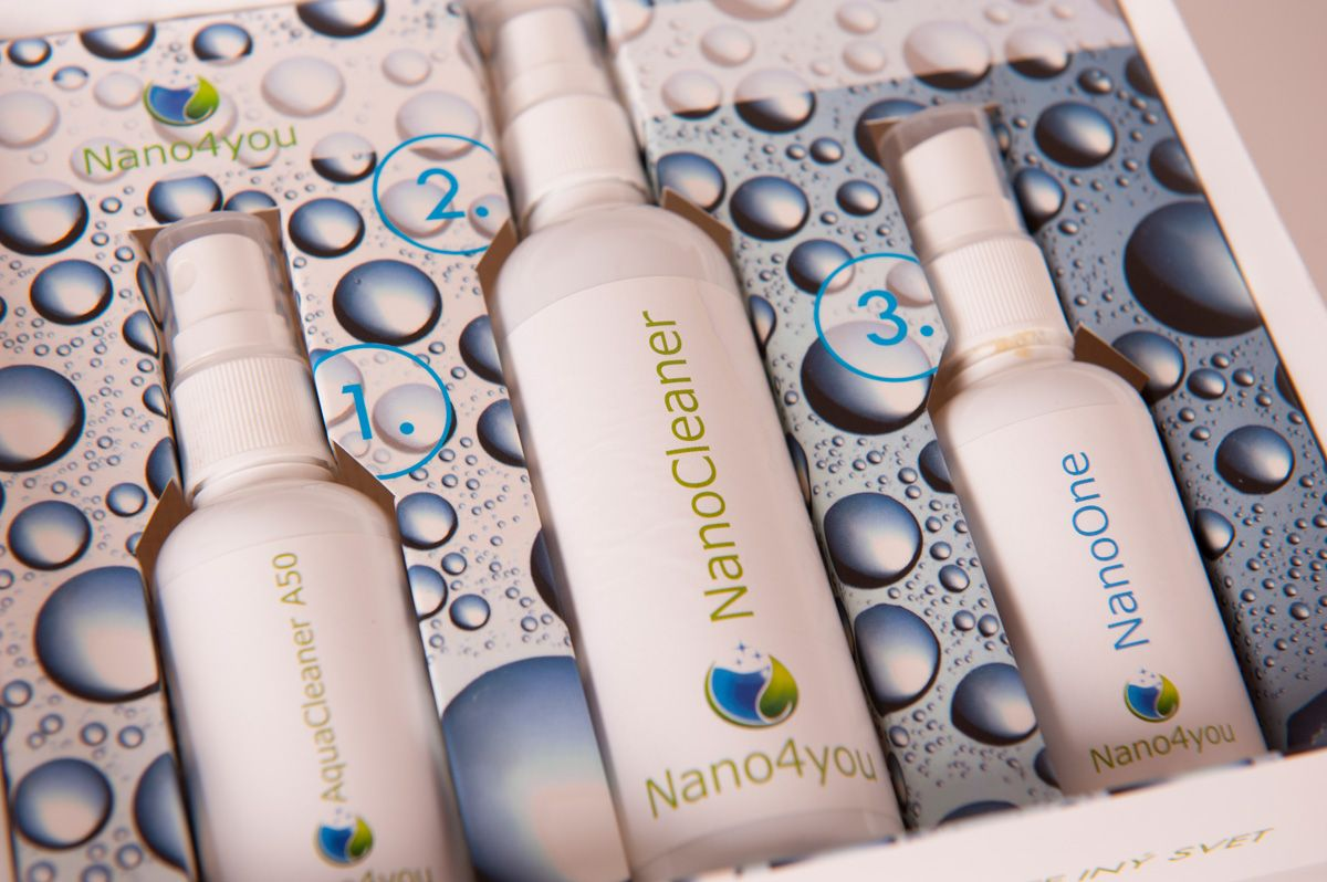 Nano čistič krbových skel Nano4Home