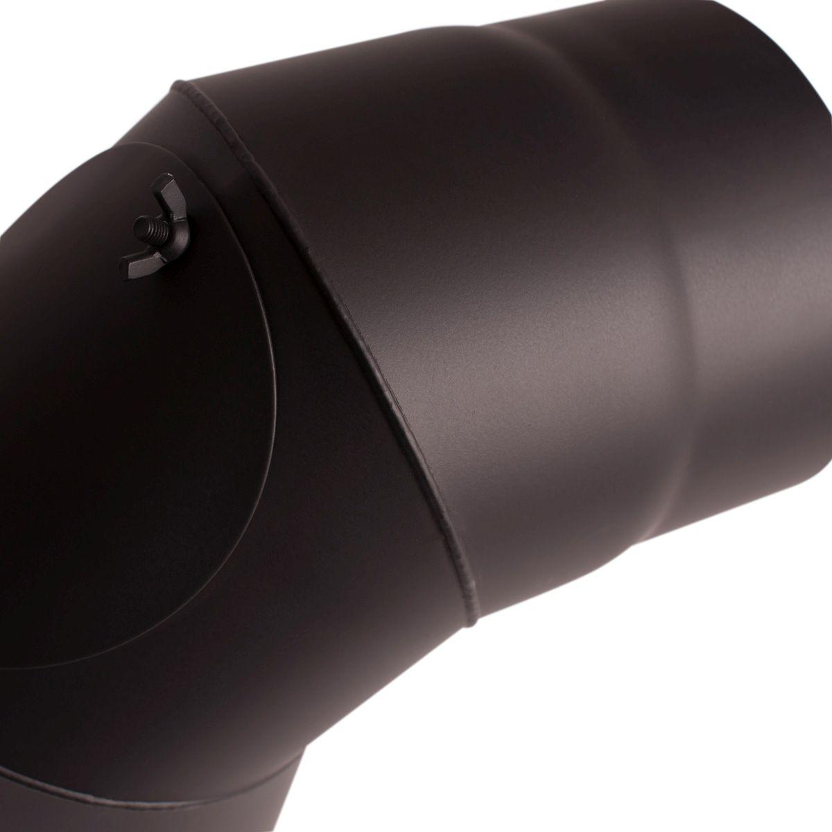 Koleno 90*/180mm/1,5mm s čistícím otvorem