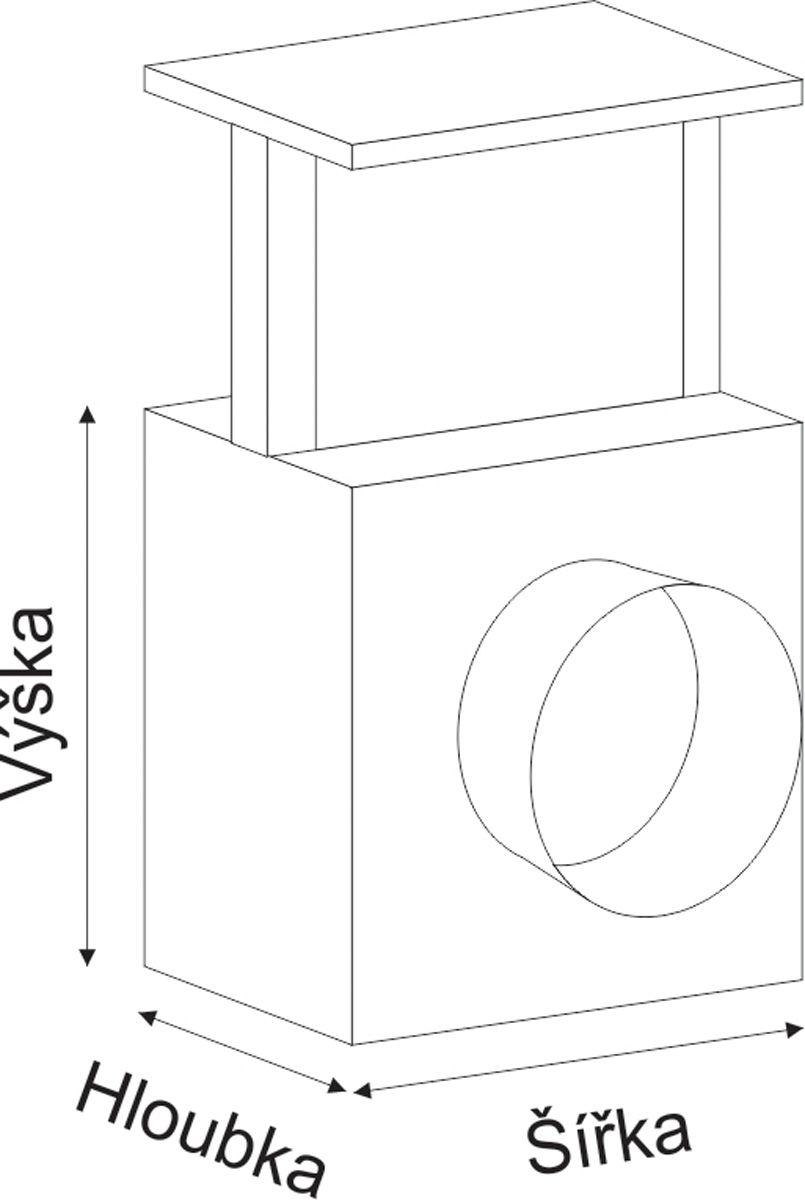 Filtr k ventilátoru / do rozvodů teplého vzduchu 150mm