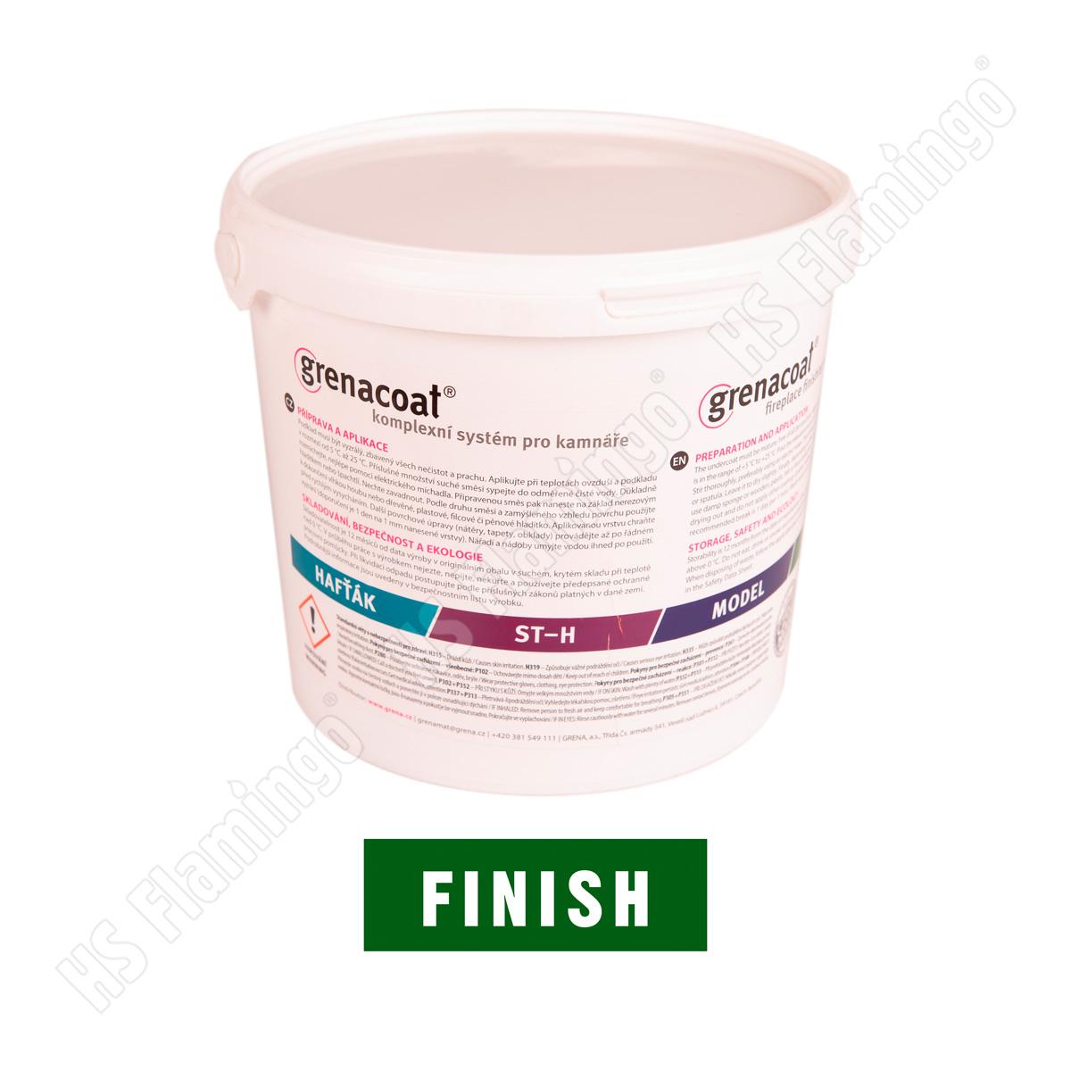 Kamnářská omítka Grenacoat FINISH, 5 kg