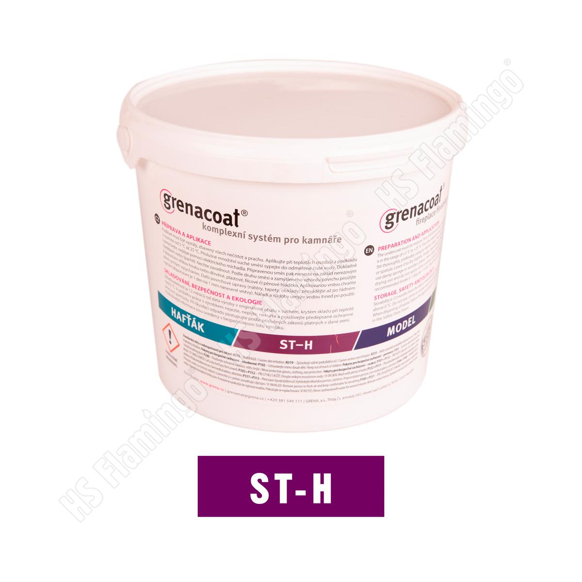 Kamnářská omítka hrubá 1,5 mm Grenacoat ST-H, 5 kg